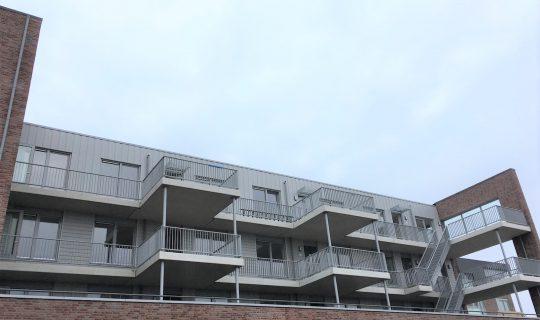24 appartementen te Zwaag