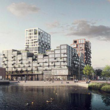 Pontkade te Amsterdam