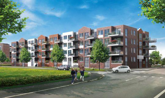 40 appartementen Hart van Bangert