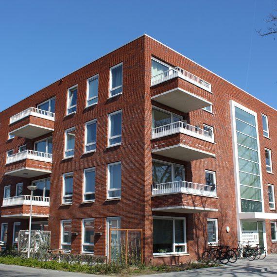 Appartementen Bachlaan te Zwolle