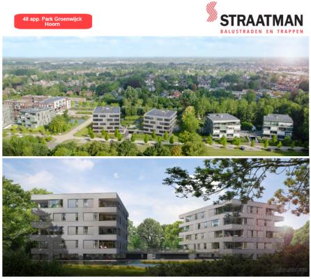 48 appartementen Park Groenwijck te Hoorn