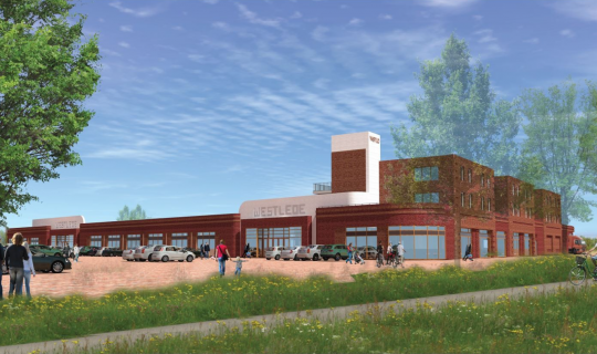 Winkelcentrum Westlede in Tiel