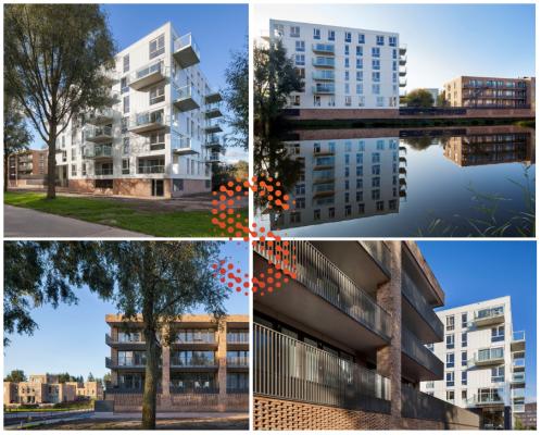 45 appartementen Parkblok Terwijde Utrecht